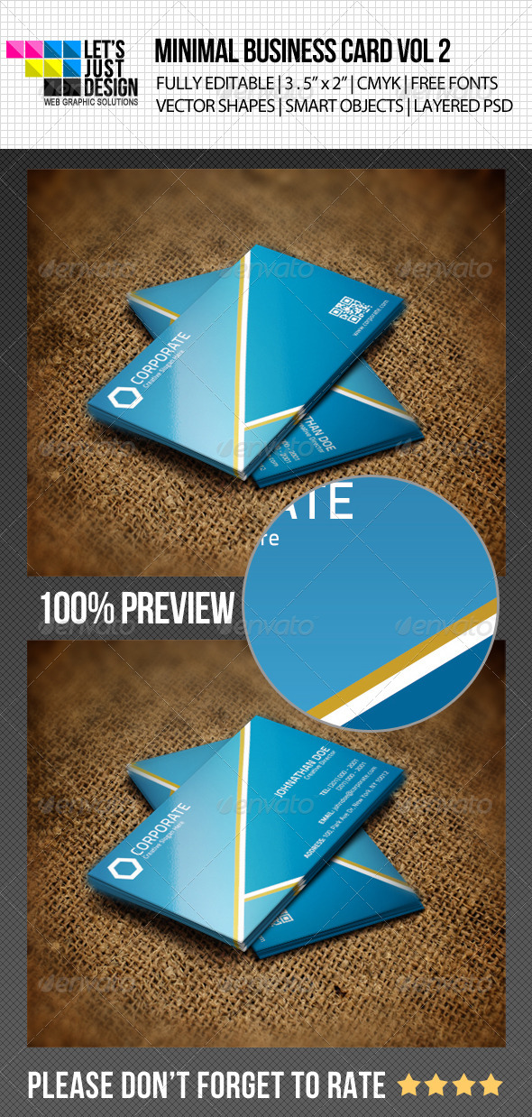 Minimal Business Card Vol 2 by jasonmendes