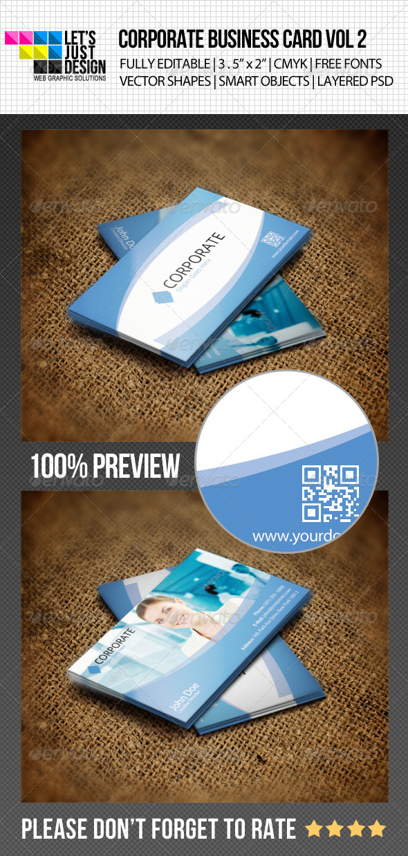 Corporate Business Card Vol 2 by jasonmendes