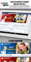 Creative Corporate Facebook Timeline Cover Vol