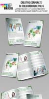 Creative Corporate Bi-Fold Brochure Vol 6