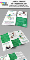 Creative Corporate Tri-Fold Brochure Vol 6