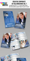 Creative Corporate Bi-Fold Brochure Vol 7