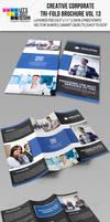 Creative Corporate Tri-Fold Brochure Vol 13
