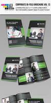 Creative Corporate Bi-Fold Brochure Vol 13