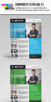 Corporate Flyer Template Vol 21