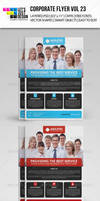 Corporate Flyer Template Vol 23
