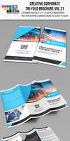 Creative Corporate Tri-Fold Brochure Vol 21