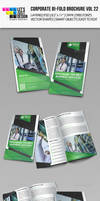 Creative Corporate Bi-Fold Brochure Vol 22