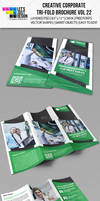 Creative Corporate Tri-Fold Brochure Vol 22