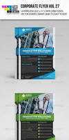 Corporate Flyer Template Vol 27
