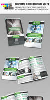 Creative Corporate Bi-Fold Brochure Vol 24