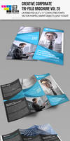 Creative Corporate Tri-Fold Brochure Vol 25