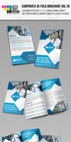 Creative Corporate Bi-Fold Brochure Vol 26