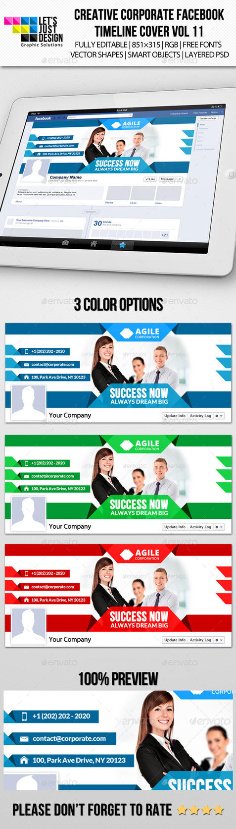 Creative Corporate Facebook Timeline Cover Vol 11 by jasonmendes