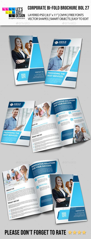 Creative Corporate Bi-Fold Brochure Vol 27 by jasonmendes