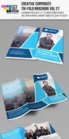 Creative Corporate Tri-Fold Brochure Vol 27