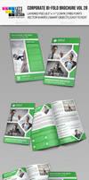 Creative Corporate Bi-Fold Brochure Vol 28