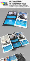 Creative Corporate Tri-Fold Brochure Vol 28