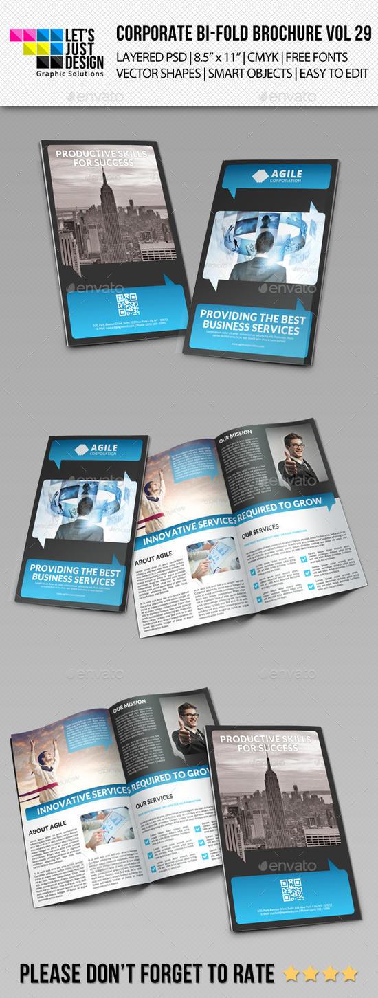Creative Corporate Bi-Fold Brochure Vol 29 by jasonmendes