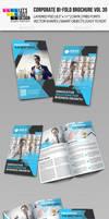 Creative Corporate Bi-Fold Brochure Vol 30