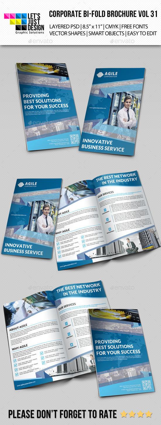 Creative Corporate Bi-Fold Brochure Vol 31 by jasonmendes