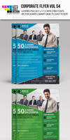 Corporate Flyer Template Vol 54 by jasonmendes