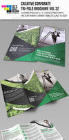 Creative Corporate Tri-Fold Brochure Vol 32 by jasonmendes
