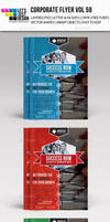 A4 Corporate Flyer Template Vol 59 by jasonmendes
