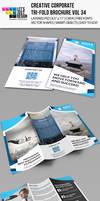 Creative Corporate Tri-Fold Brochure Vol 34 by jasonmendes