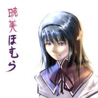 Akemi Homura by es-jeruk