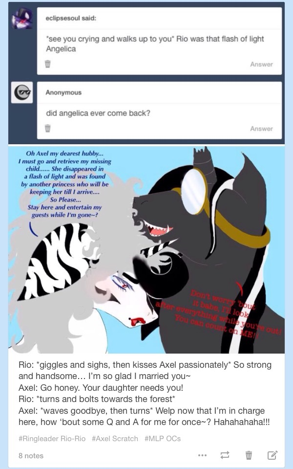 Tumblr Q and A: Watch by RingleaderRio-Rio