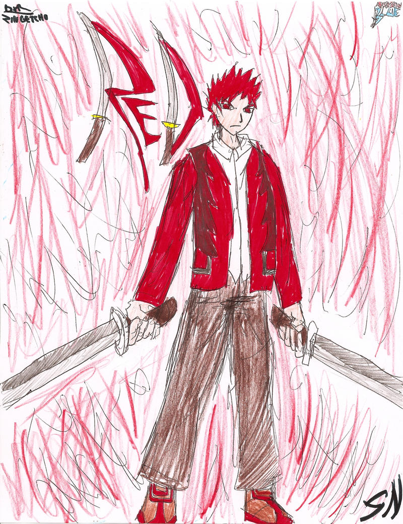 Assassin Blue: Red by SilentNaga
