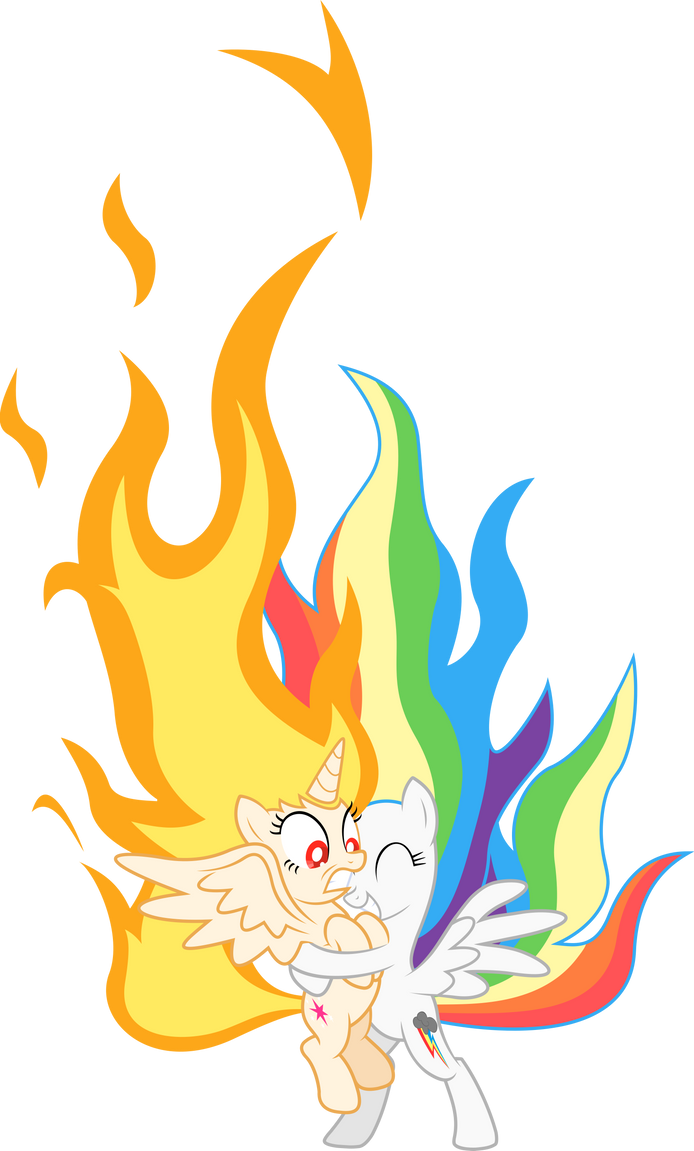 Adventure time my little pony flame princess