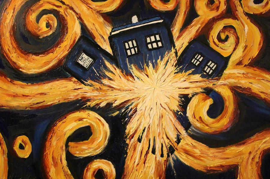 The Pandorica Opens - Doctor Who Fan Art by Talisaurus