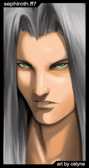 Sephiroth Silent Rage by celyne