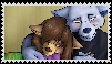 Tony x Nene- Stamp by ThePirateCoveMan