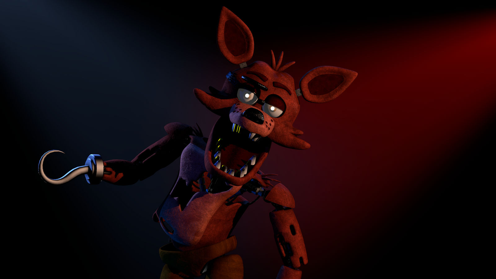 Foxy the pirate jumpscare remake by ThePirateCoveMan on