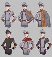 Nazy uniforms
