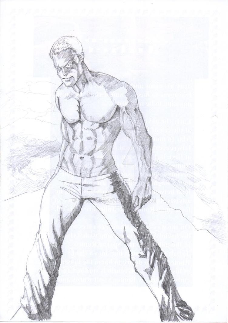 Male Study 1 by nahrain