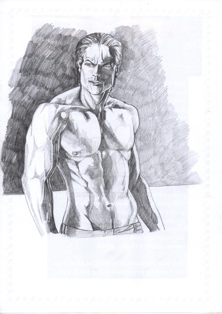 Male Study 2 by nahrain