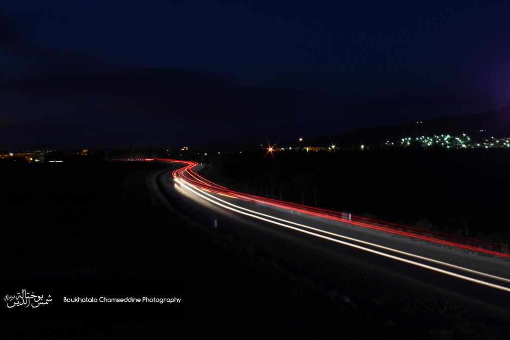 long exposure Cars by boukhatala