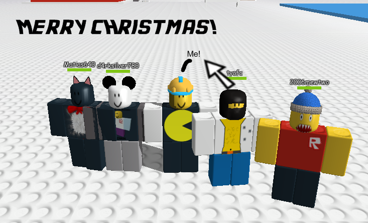Roblox Christmas. by Stupid-Mario on DeviantArt