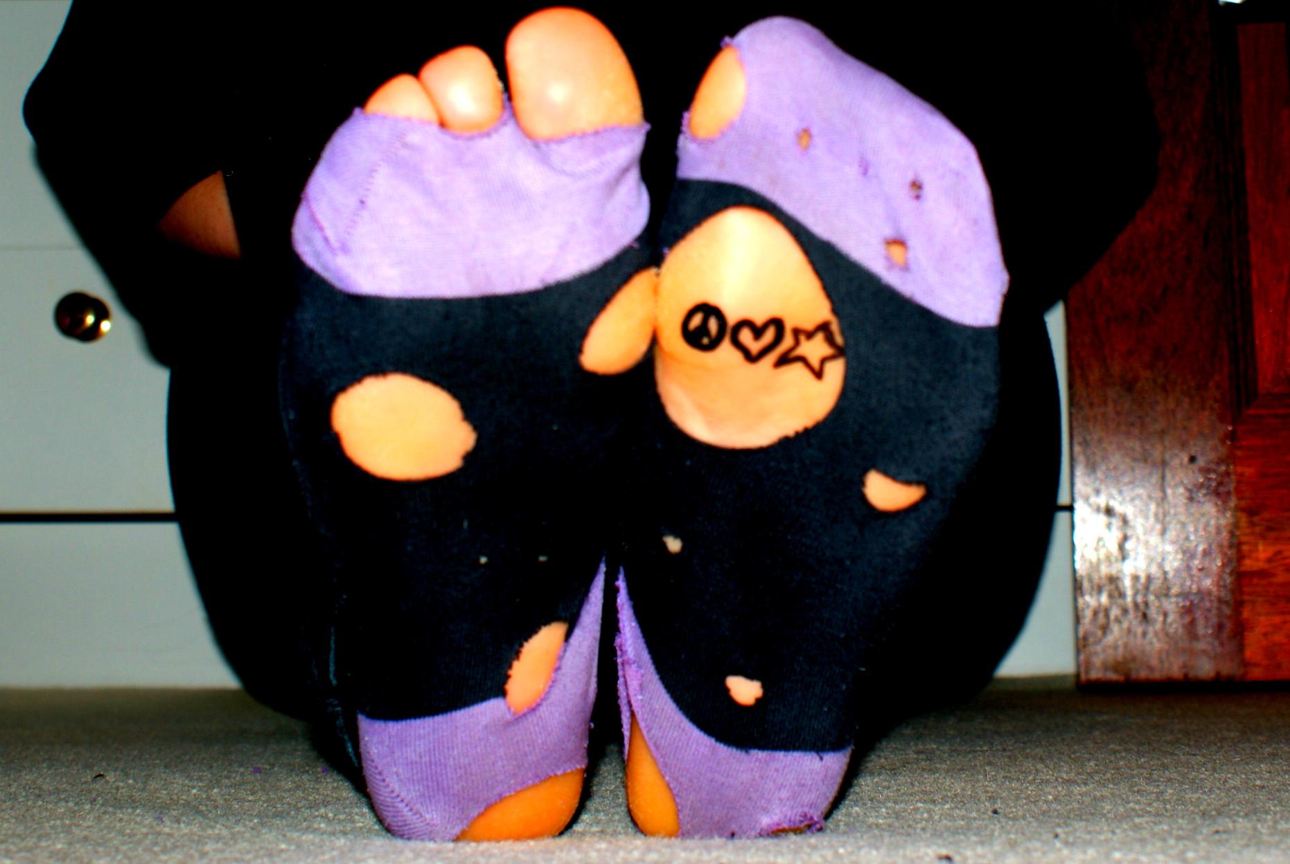 Holey Socks by bt16
