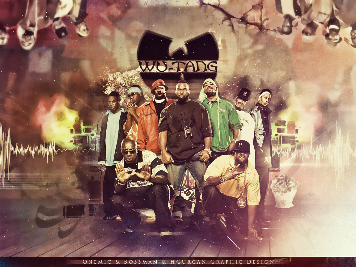 wu tang clan wallpaper by onemicgfx on deviantart