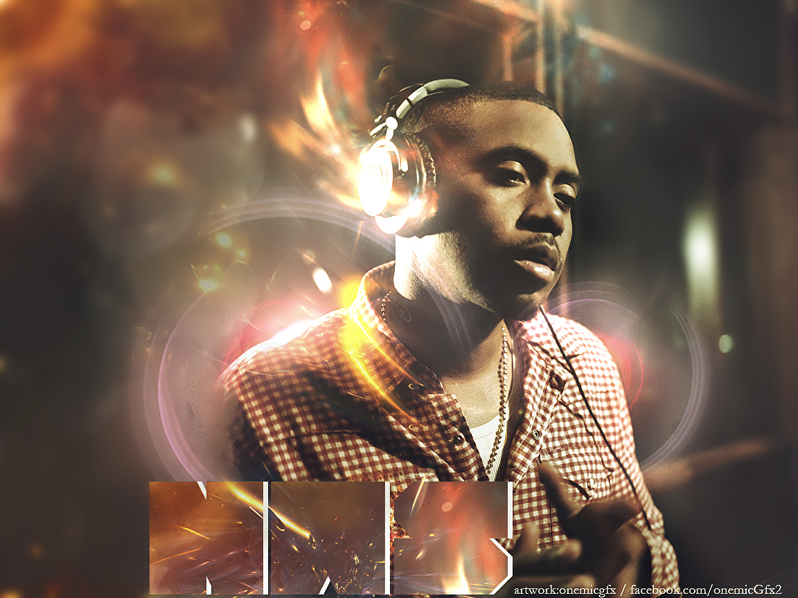 Nas Wallpaper by onemicGfx