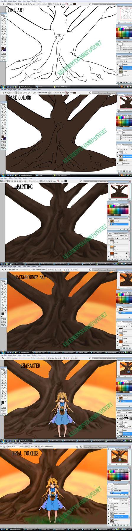 The make of Tree by BeyondRaitngu