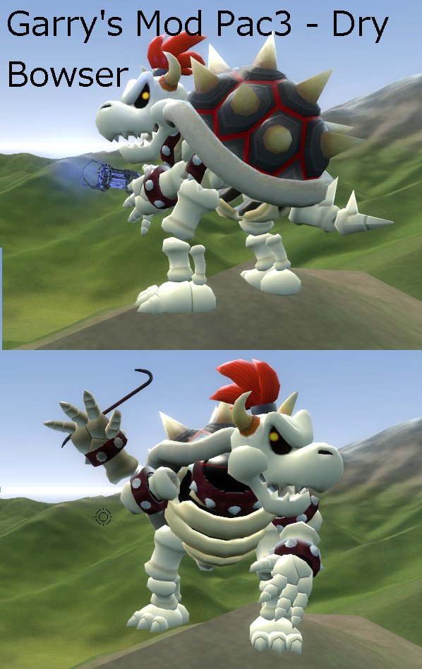 Gmod Pac3 - Dry Bowser PlayerModel ( Download ) by Catty-Mintgum on
