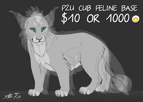 P2U Cub Feline Base New Style