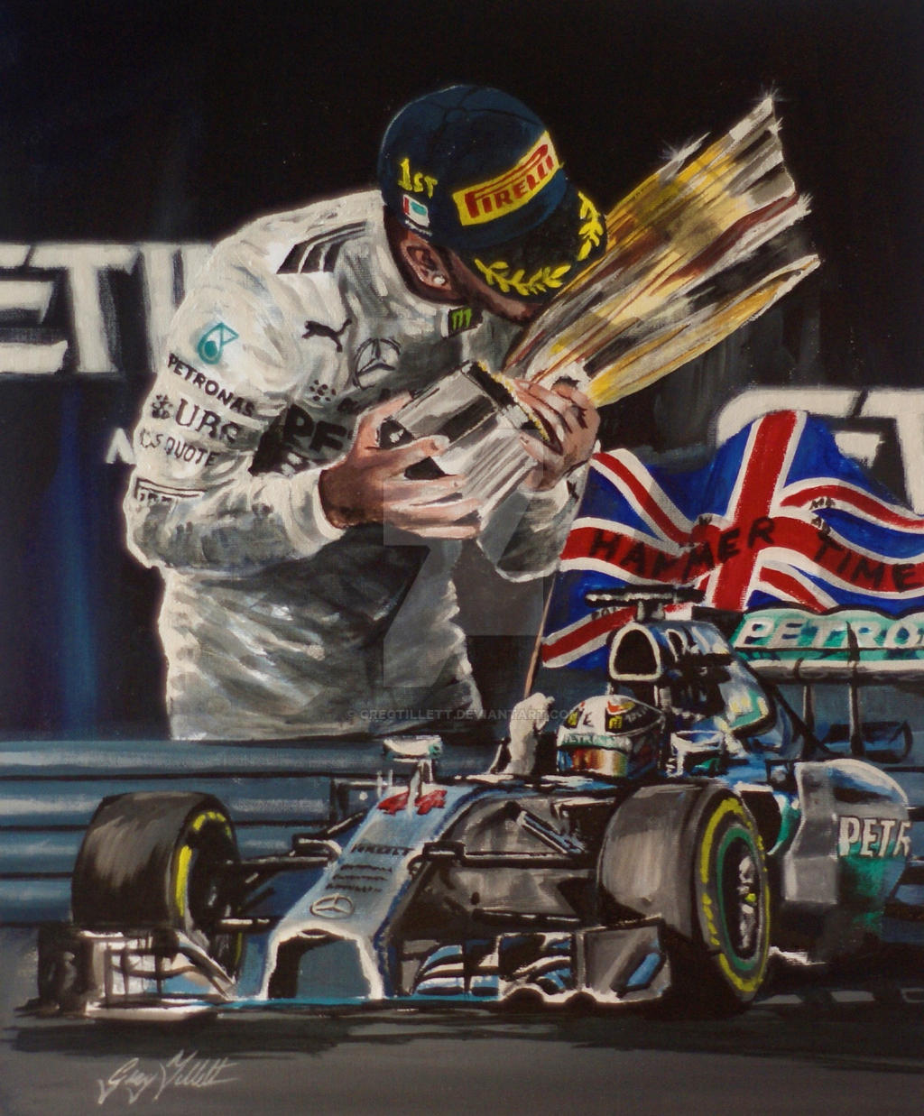 lewis hamilton 2014 formula 1 world championgregtillett on