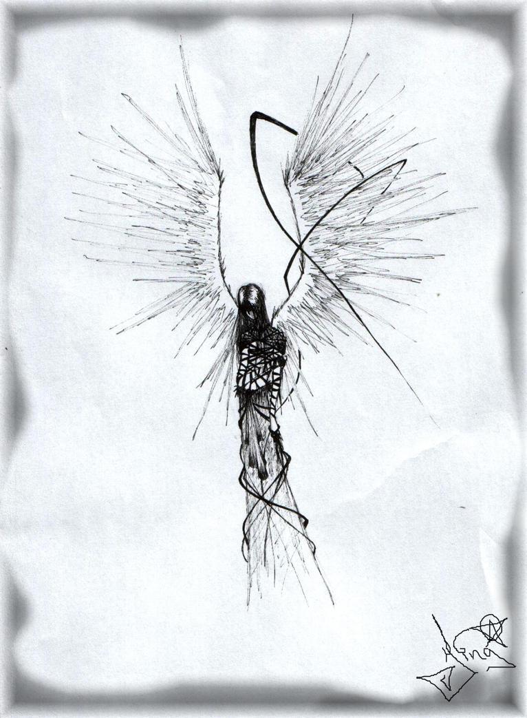 scary image of angel - photo #26